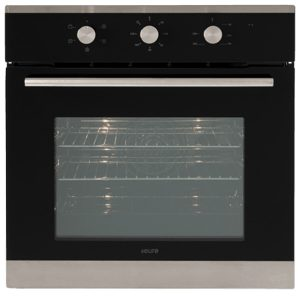 Euro EO604SX 60cm Wall Oven Black Glass/Stainless Steel - New
