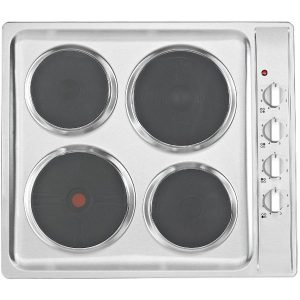 Euro ECT600ESS 60cm Stainless Steel Electric Cooktop - New