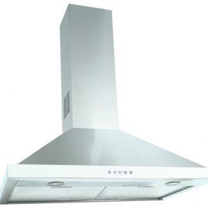 DiLusso CH601SS 60cm Canopy Rangehood with Flue Extension - New